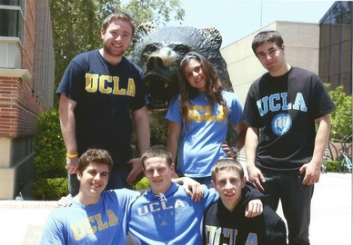 Students at UCLA